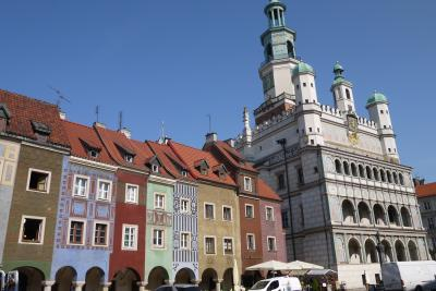 春のポーランド・リトアニア・ラトビア三国巡り その6 ポズナン街歩き