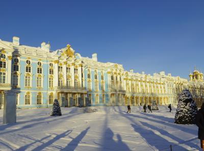 12月のモスクワ&サンクトペテルブルク  5日目前篇  エカテリー…