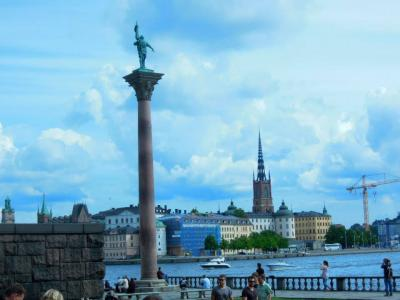 夏でもやっぱり寒い、スウェーデン