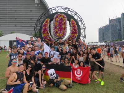 音楽フェス ウルトラシンガポール。