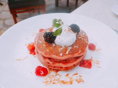 15年ぶり!?ハワイはやっぱり楽園でした〜ピンクパレスで朝食�