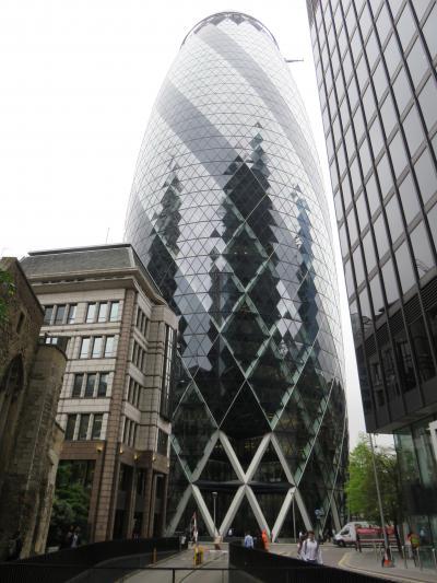 ロンドンの新建築群を見て歩く
