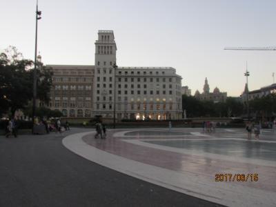 イベリア周遊の旅(193)カタルーニャ広場