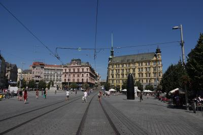 チェコ旅行7:ブルノ(レールジェット)