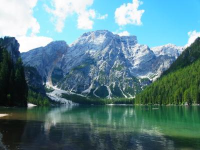 北イタリアを巡る旅 �ドロミテ(ブライエス湖、フィスカリーナ)