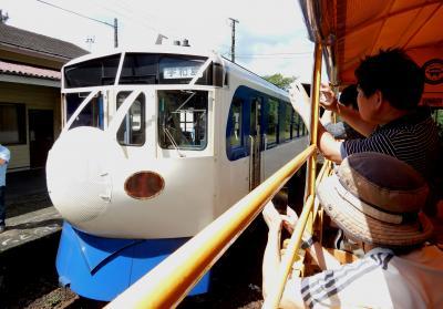 トロッコ列車 2時間×2本連続乗車 マニアでもキツイわ!(謝恩フリーき…