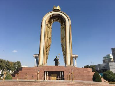タジキスタンの首都のドゥシャンベ。