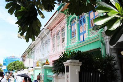 プラナカンデザインを楽しむシンガポール2泊3日