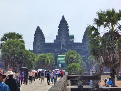 カンボジア・アンコールワット2人旅(卒業旅行)備忘録