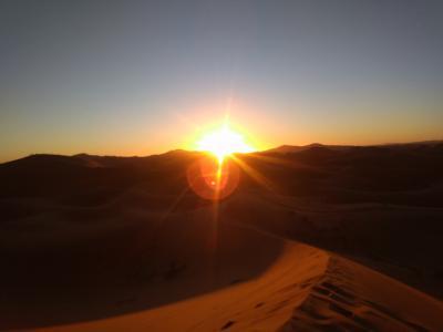 フォトジェニックな国・モロッコ夢紀行(その6)〜メルズーガの砂漠…