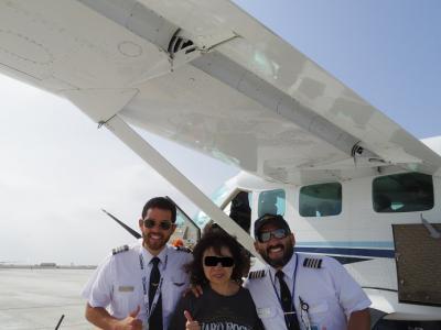 南米三大絶景ツアー3日目: ナスカの地上絵よく見えた!遊覧飛行の急…
