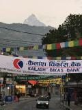 2017.12.31 ネパール  早朝のポカラ