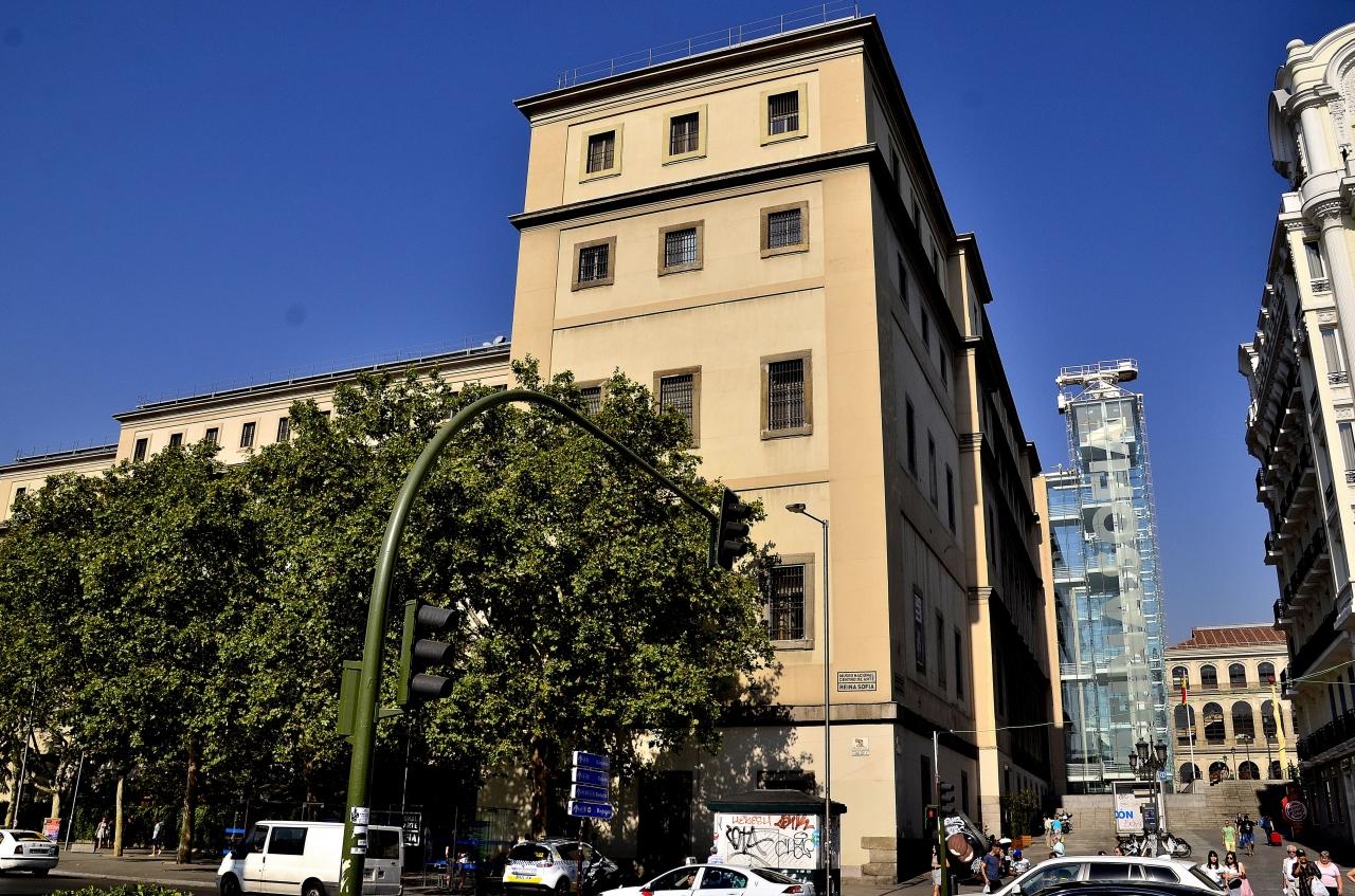 ときめきのスペイン周遊⑱マドリード ソフィア王妃芸術センター