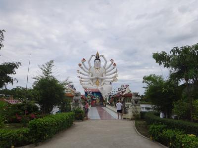 カラフルな像たちとのどかな境内に癒されるお寺