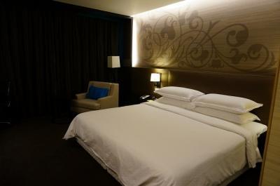 おしゃれな雰囲気のホテルでした!