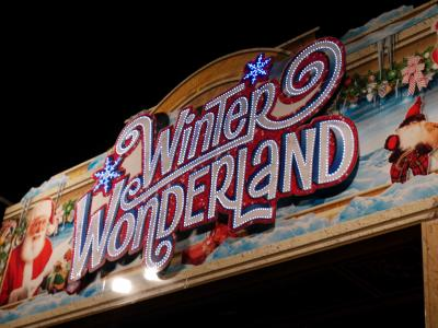 ウインターワンダーランドでクリスマス気分を♪