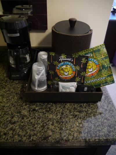 ライオンコーヒーが毎日補充されていました