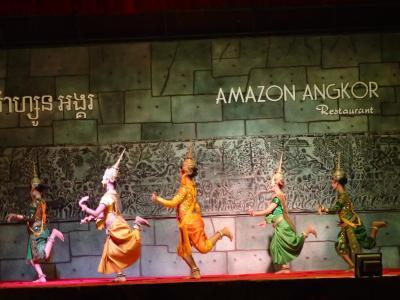 カンボジア料理とダンスが楽しめます