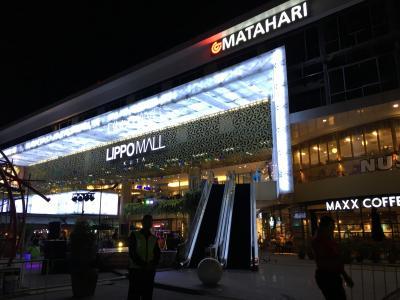 クタエリアにある便利なショッピングモール