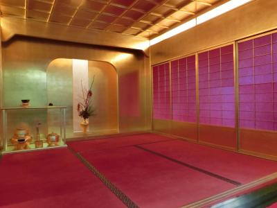 金沢で最もオススメの無料観光スポット☆金の茶室が見事すぎます