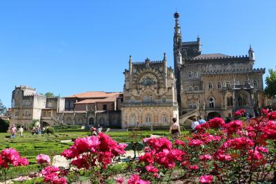 かつてはポルトガル国王の離宮だった壮麗な宮殿ホテルです。