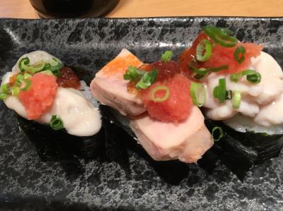 ワサビが強烈です☆錦糸町ガード下の回らないお寿司やさん