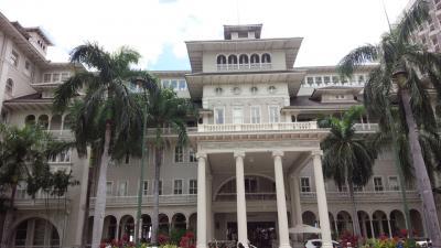 美しいホテルです!