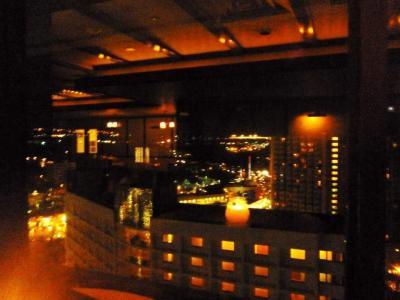 ホテルの外の景色
