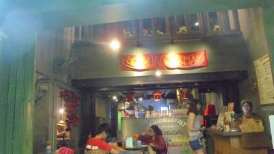 ベトナム戦争時代の雰囲気を模したカフェ。