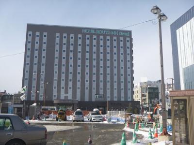 駅目の前のビジネスホテル
