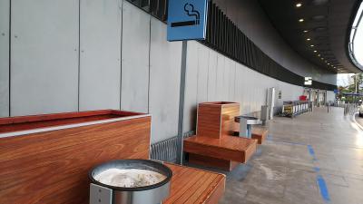 マドリード バラハス空港 (MAD) ターミナル2 喫煙所ゲート内になし