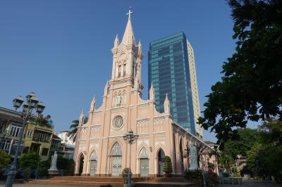 建物よりも、奥にある礼拝施設がおすすめ