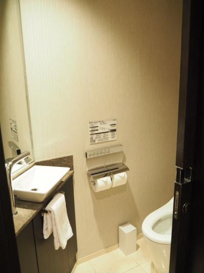 トイレは独立タイプなので使いやすい