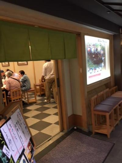 京都駅の回転寿司
