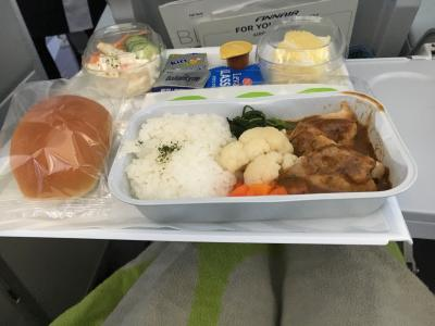 福岡便は空いていました。