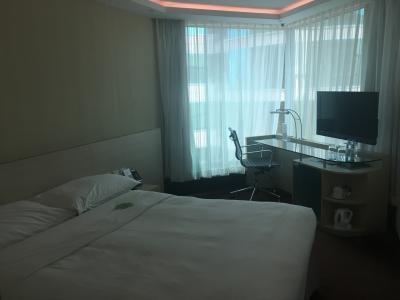 コンパクトで居心地の良いホテル