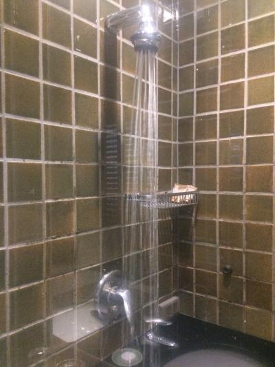 コントのような最低なシャワー室