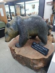木彫り熊を見るだけでも、行く価値が