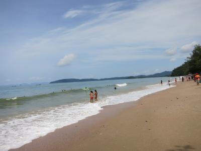 クラビ中心的なビーチ