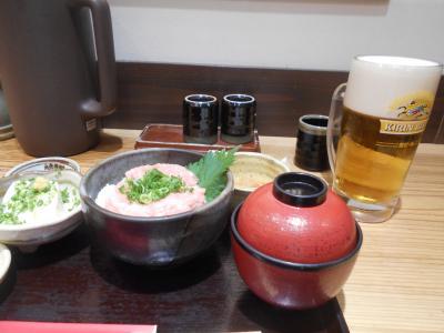 羽田空港では貴重な和定食食堂。