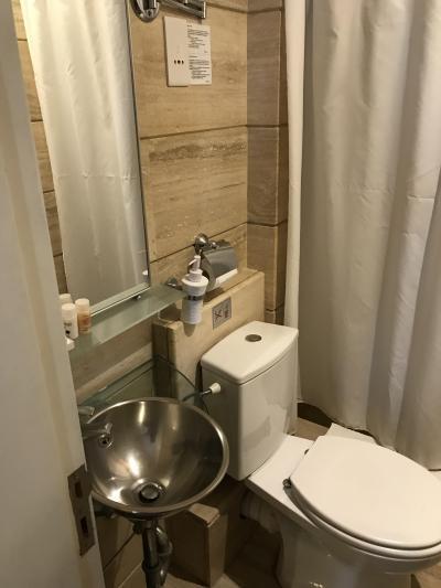 バスルーム狭い