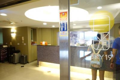 SKY19ホテル 台北駅の真ん前だけど分かりにくい