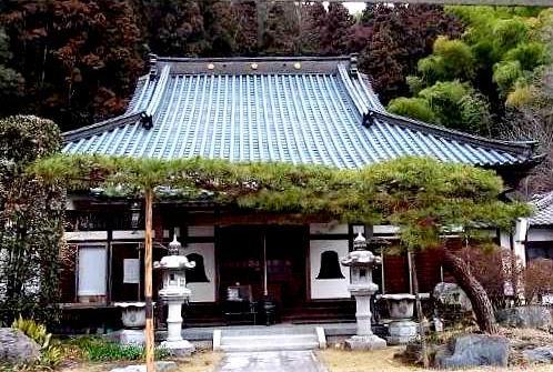 七日市藩前田家の菩提寺