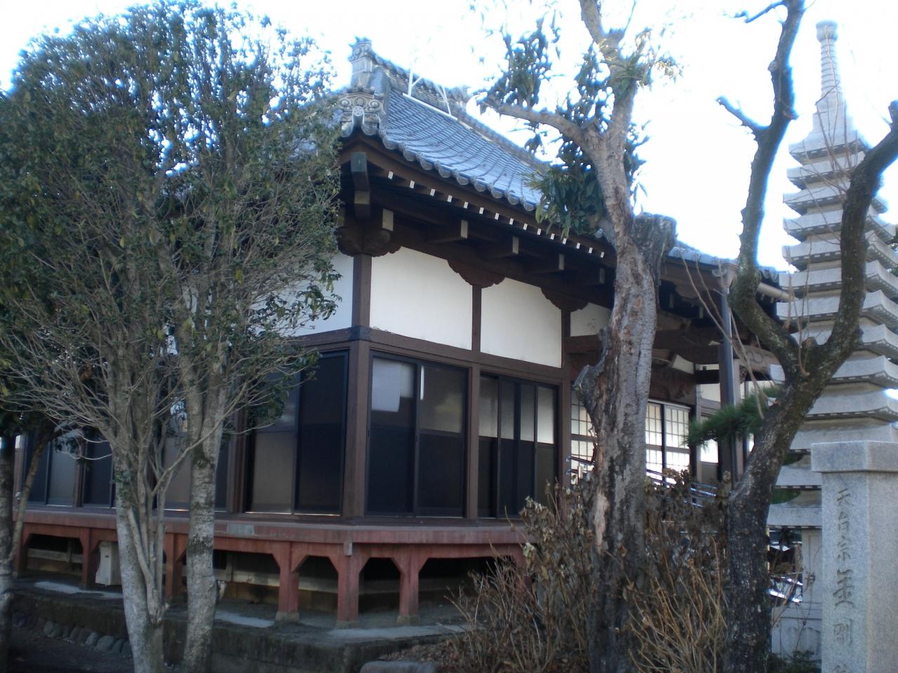 七日市藩の総鎮守だった蛇宮神社の別当寺でした