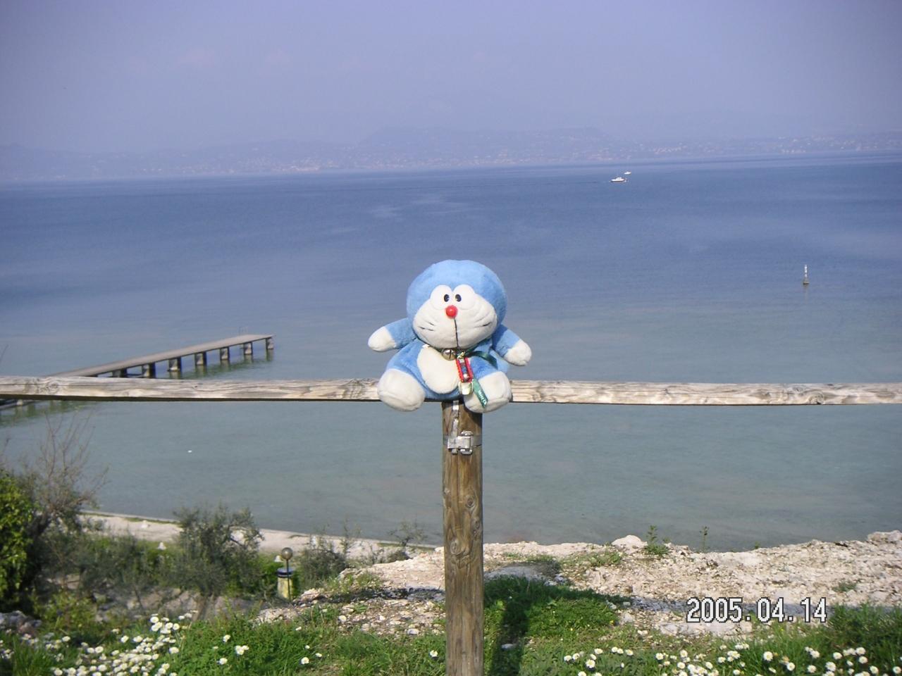 『ガルダ湖にある温泉保養地シルミオーネ』by tamaemonさん ...