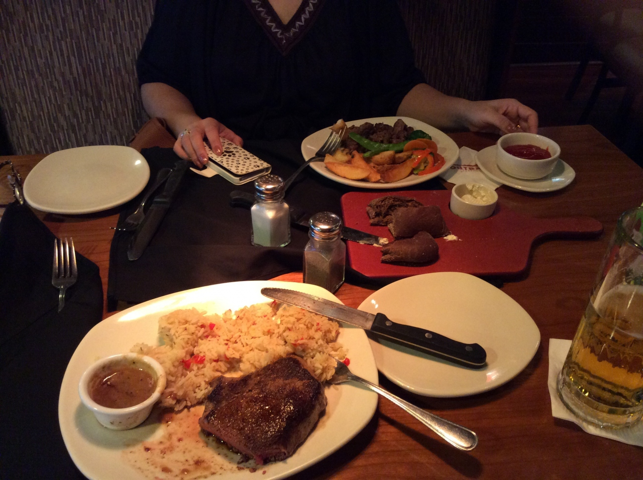 Outback steakhouse for The east asian dining t nagar