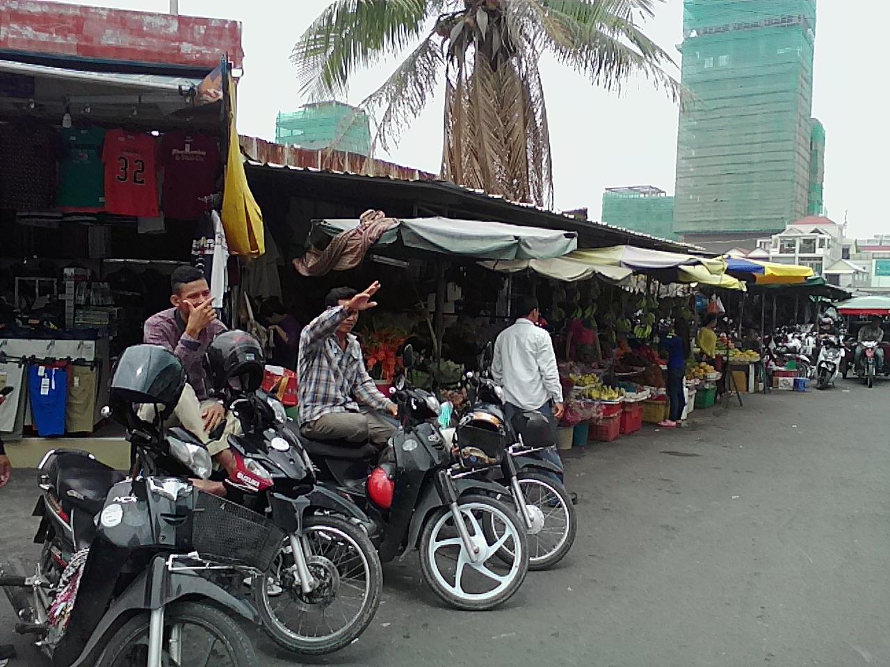 ロシアン マーケット (トゥール トンポン マーケット)Tuol Tom Poung Market