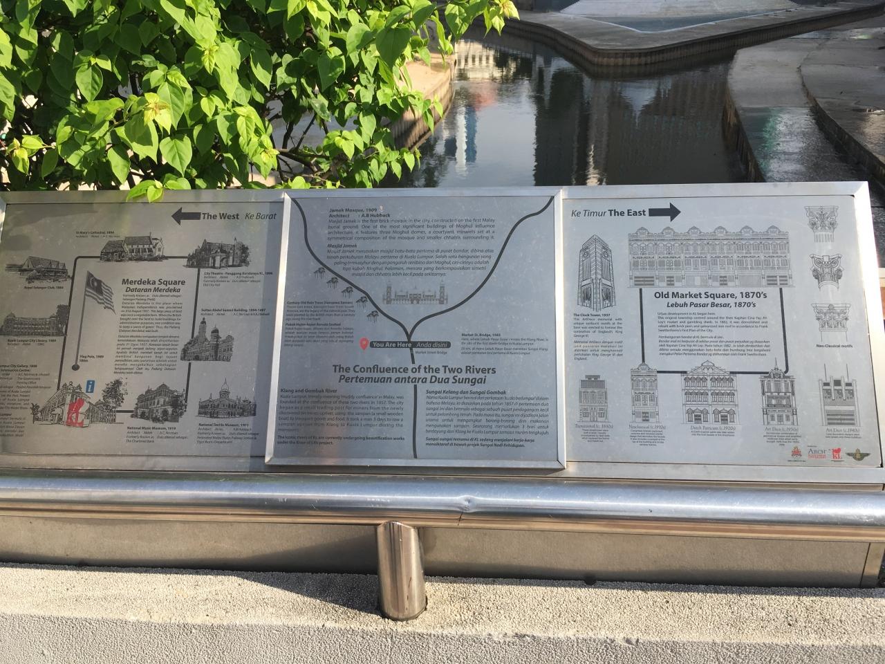 クラン川とゴンバック川の合流地点が「クアラルンプール」の語源
