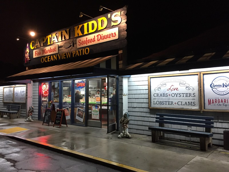 Captain Kidd S Restaurant Redondo Beach California