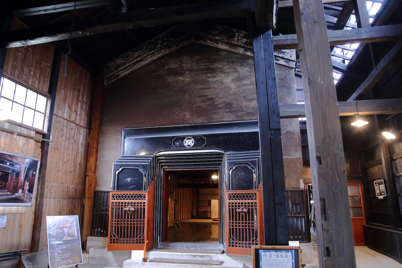 かつての増田の繁栄を伝える場所